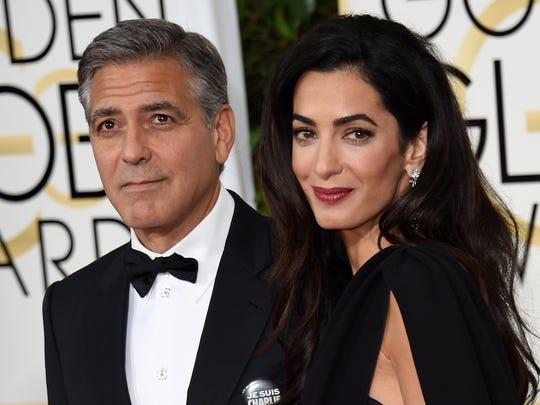 Amal Clooney joins N Y  law school faculty