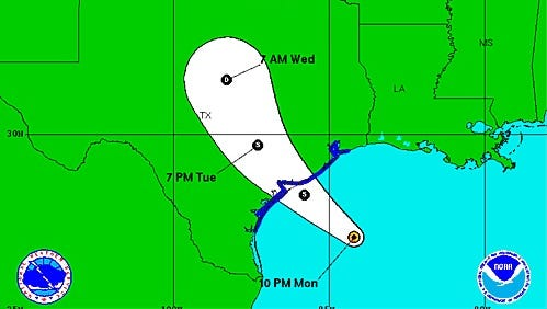 Tropical Storm Bill has formed in the Gulf of Mexico and it's expected to hit Texas Tuesday, June 16, 2016.