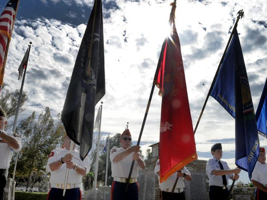 Veteran's Day events will take place at sites throughout Ventura County on Sunday.