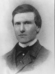 Andrew Cowan in 1863 at age  22.