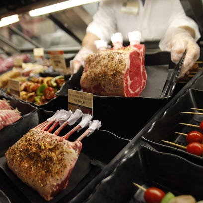 A 2012 look inside the meat counter at Fresh Market