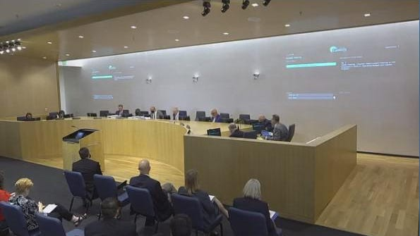 The city council approved the first reading of the FY 2020-21 budget on Wednesday.