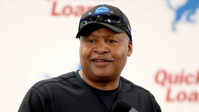 Jim Caldwell, Detroit Lions head coach .