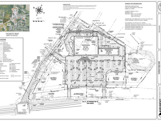 Site plans for Sango Square shopping center were approved