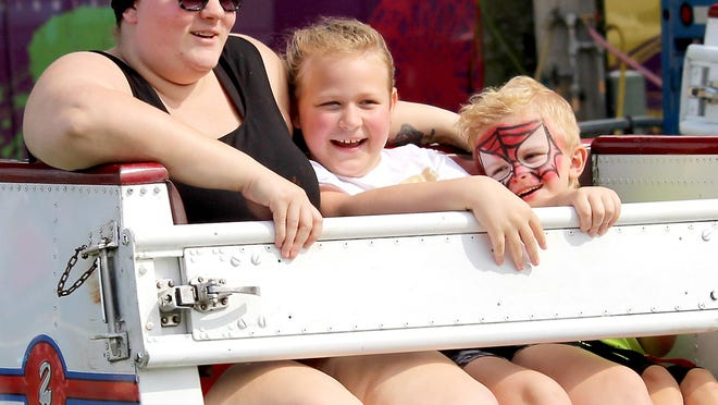 The midway is among numerous attractions each September at the St. Joseph County fairgrounds. That won't be the case in 2020: The Grange Fair is canceled, due to uncertainties related to COVID-19.