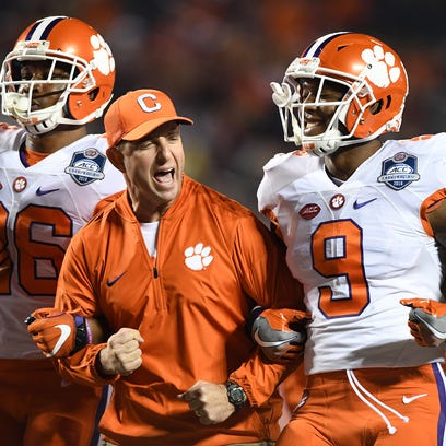 Better than last year? Clemson believes it has been