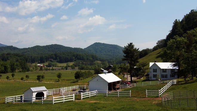 Western North Carolina farm.
