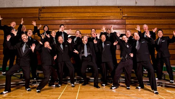 The Salem SenateAires Men's Chorus won the Oregon barbershop-singing competition last weekend in Portland and qualified for this fall's district competition.