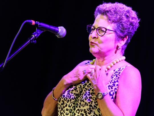 Lizbeth Congiusti at the Arizona Storytellers: Life