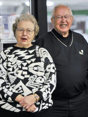 Shirley and George Torrey are shown in a photo from 2008.