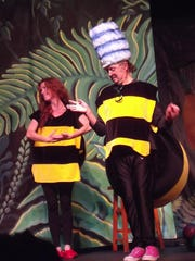 A scene from 'Makin' Larvae,' a bee conservation comedy that will appear at The Strong National Museum of Play on Wednesday, July 29, 2015.