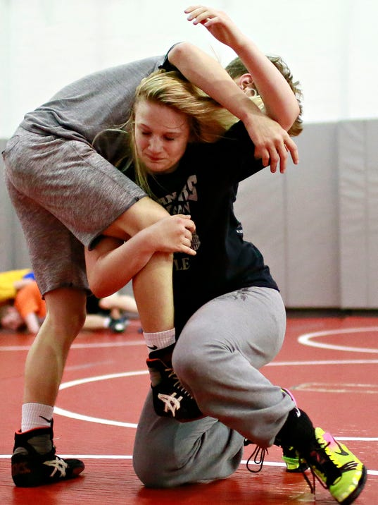 Modern Day wrestling practice