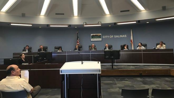 El Ayuntamiento de Salinas en el año 2017.