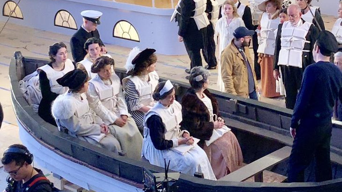 The Monday After Jeff Stephan Helping Bring Titanic Survivors Story To Big Screen