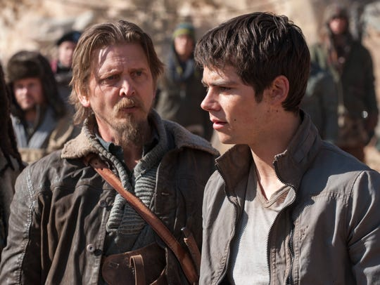 Thomas (Dylan O'Brien, right) finds a new ally in Vince