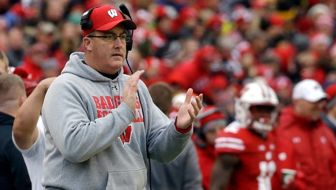 This will be coach Paul Chryst's fourth class at Wisconsin.