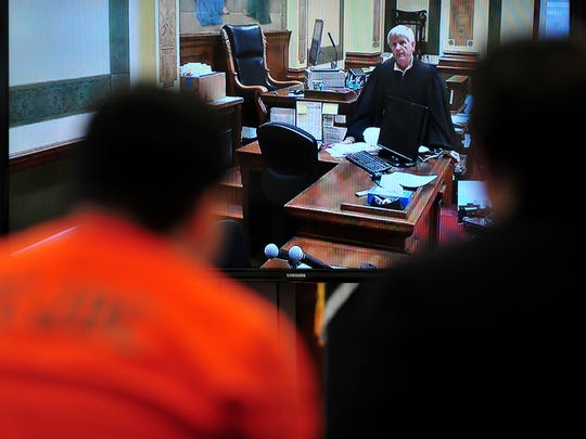 Missoula County District Judge John Larson hears Joseph