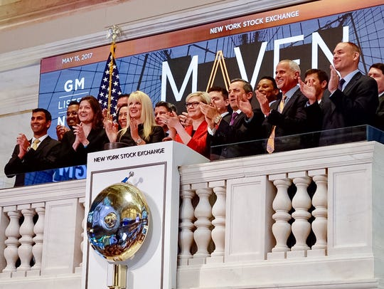 Executives of Maven, General Motors' mobility brand,