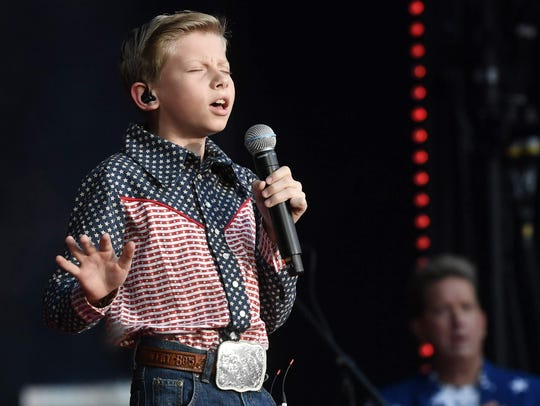 Mason Ramsey will perform Sept. 8 at Indianapolis Motor