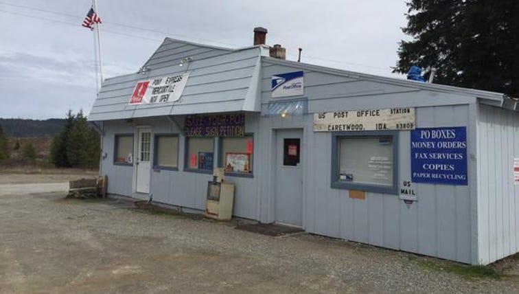 Some good news regarding the Careywood post office.
