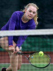Danya Wallis of North Kitsap, a three-time Class 2A state tennis singles champion, earned the Kitsap Sun's female athlete of the year award for 2017.