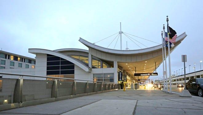 The McNamara Terminal at Metro Airport in Romulus in January 2017.