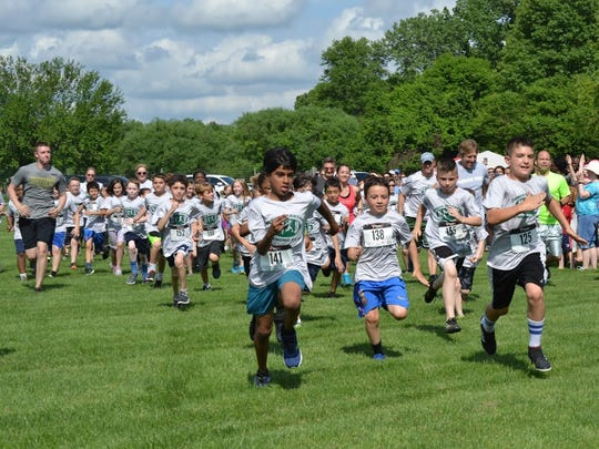 Hagan Elementary School's Junior Spartan Running Team