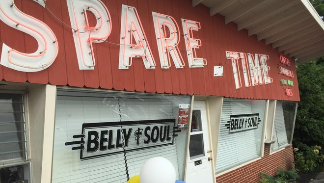 Sparetime's Belly & Soul Diner owners kept the 1958 diner's neon sign to go with a revised menu and remodeled interior when reopening the Alexandria fixture in August.