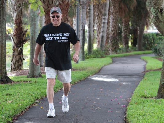 77-year-old has walked the walk for 18 years