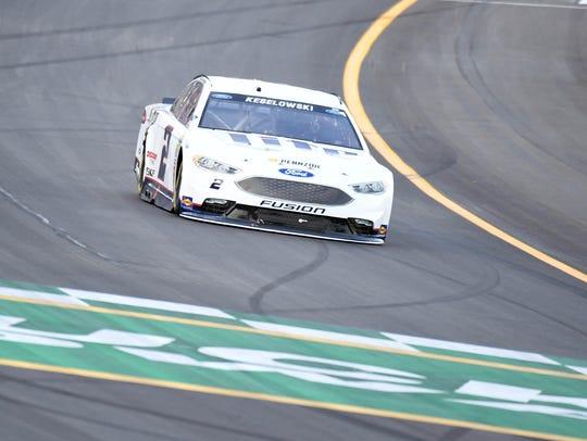 NASCAR Sprint Cup Series driver Brad Keselowski (2)