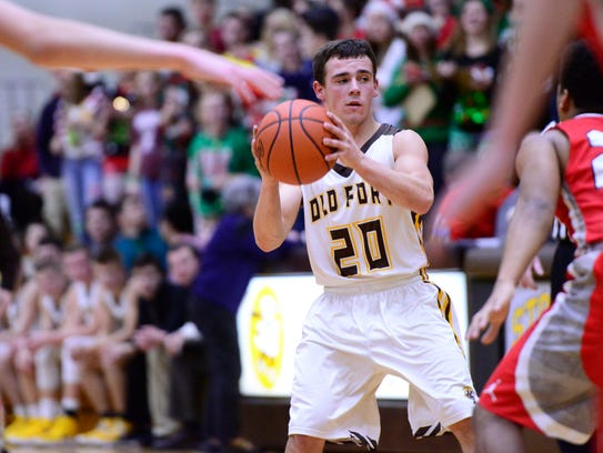 Old Fort's Jacob Webb earned honorable mention all-Ohio recognition.