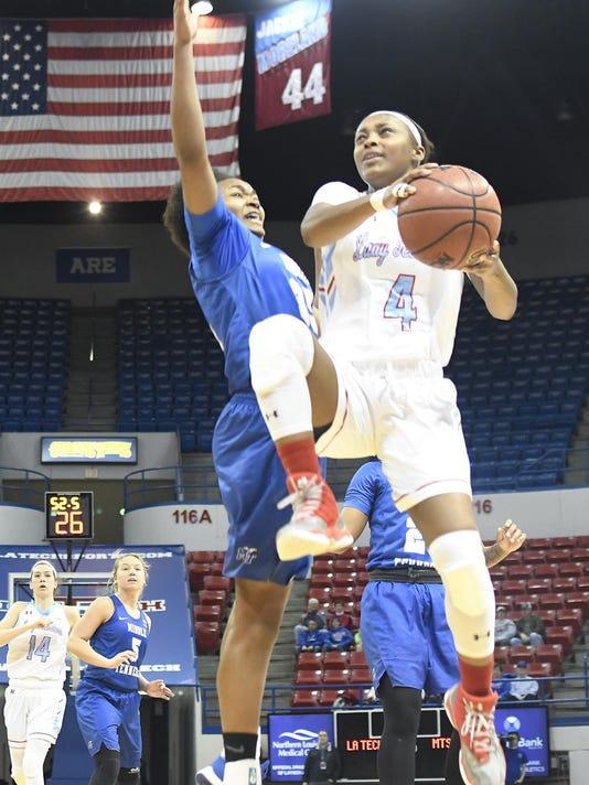 Lady Techsters Basketball vs MTSU