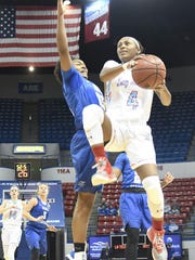 Louisiana Tech guard Kierra Anthony led the Techsters to victory Saturday.