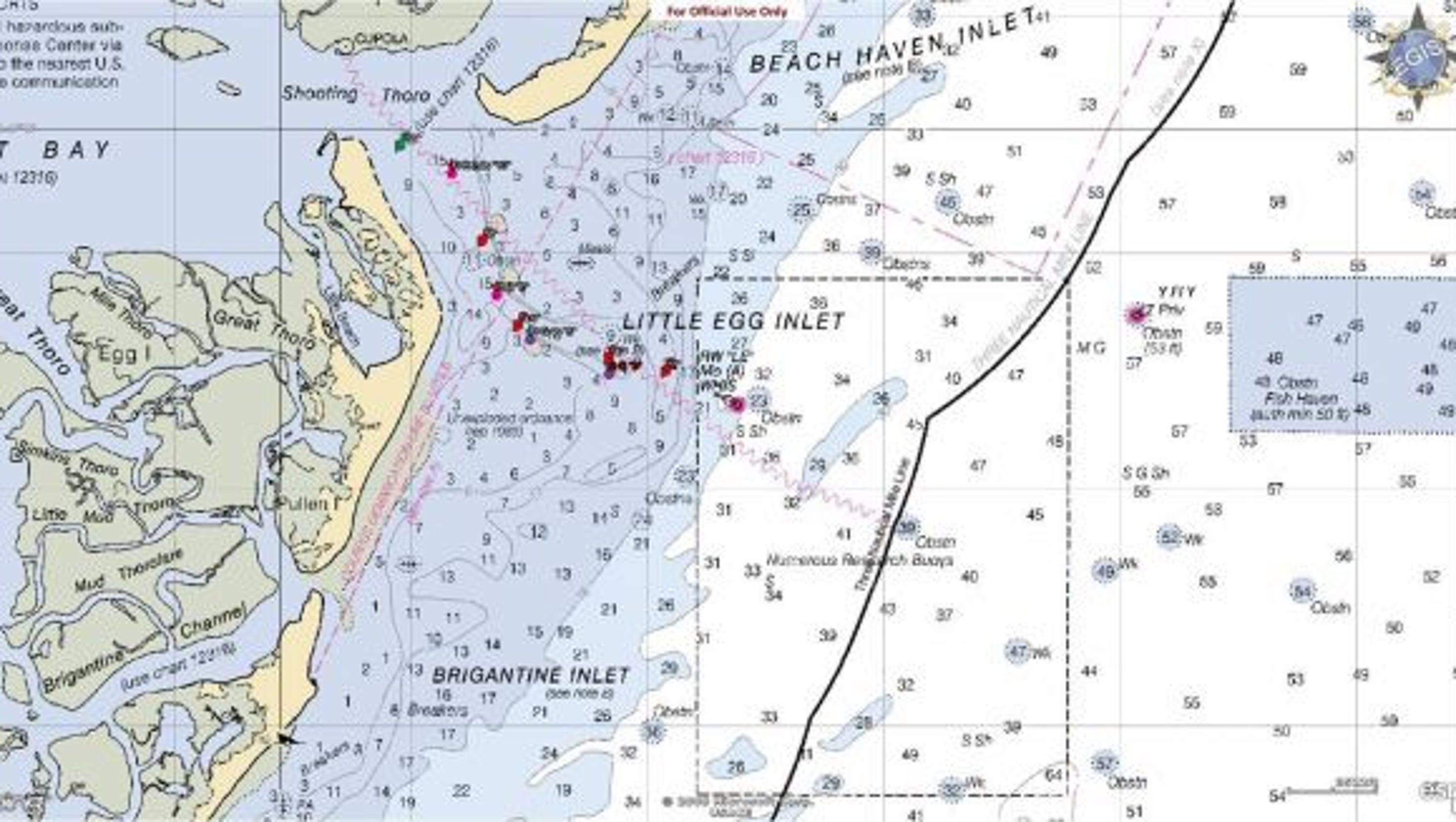 Coast guard temporarily discontinues 6 little egg inlet buoys nvjuhfo Image collections