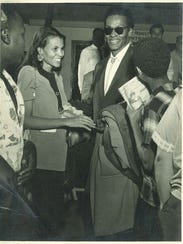 Chuck Berry and wife Themetta