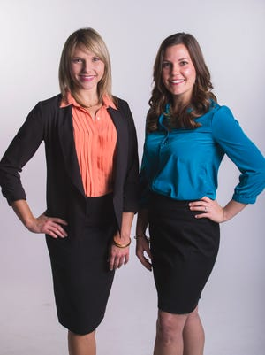 Melissa Cofta and Kelsey Griffin - candidates for Young Professionals of the Year.