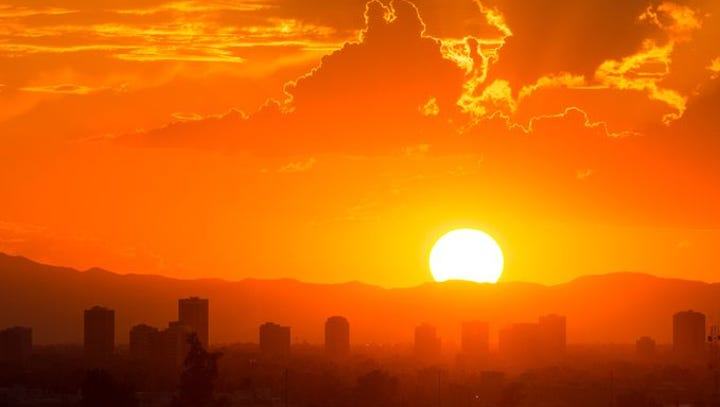 An excessive heat warning is in effect from 10 a.m.