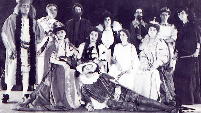 The Koreshans put on a variety of theatrical productions ranging from musical comedies to Shakespeare.
