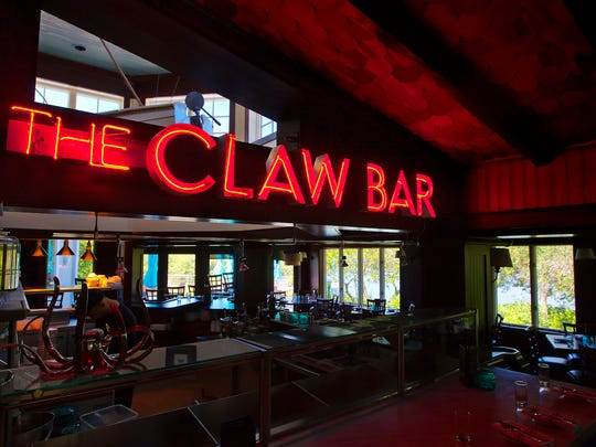 The Bay House and Claw Bar offers Southern cuisine