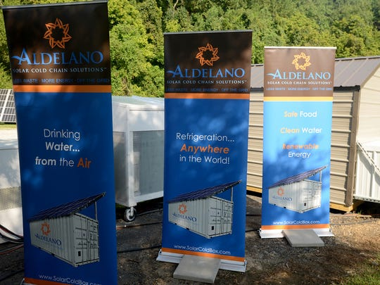 Aldelano announced their expansion in Jackson Friday, adding over 60 new jobs.