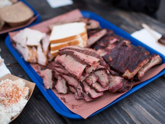 Ribs and other meats at Grand Ole BBQ Y Asado in North