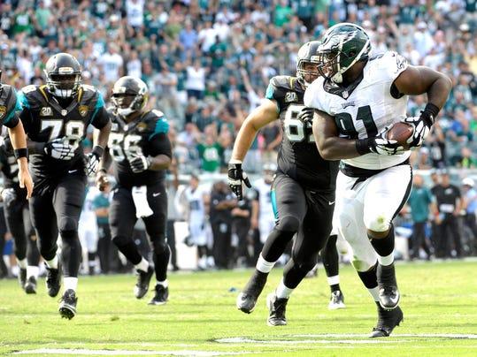 NFL: Jacksonville Jaguars at Philadelphia Eagles