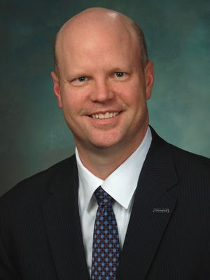 Mike Ritchie, president of Comerica Bank Michigan