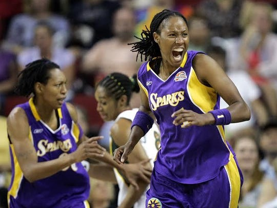 "The documentary ""The Unquiet Journey of Chamique Holdsclaw"""