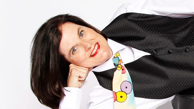 Comedian Paula Poundstone will perform at 8 p.m. Dec. 2 at the Saenger Theatre.