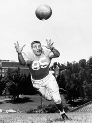 Buddy Fisher played end for Tennessee from 1961-63
