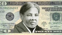 Harriet Tubman on the US $20 bill.