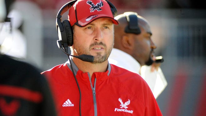 Beau Baldwin, who is currently offensive coordinator at Cal, spent nine season as head coach at Eastern Washington.