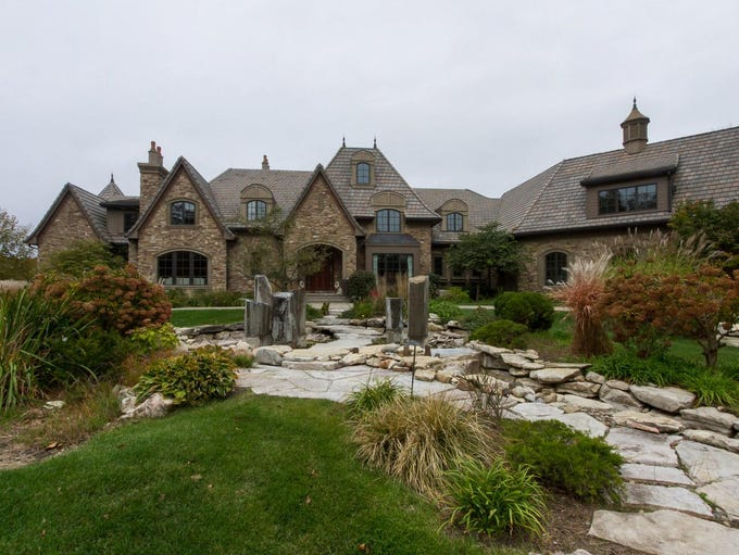 This property in Elkhart features the largest home