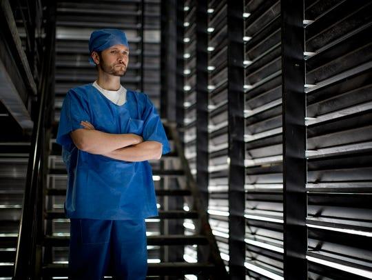 Rodrigo Cachero plays Dr. Dario, a brilliant eye specialist,